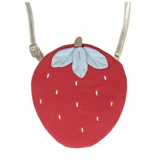 Sweet Strawberry Bag by Rockahula