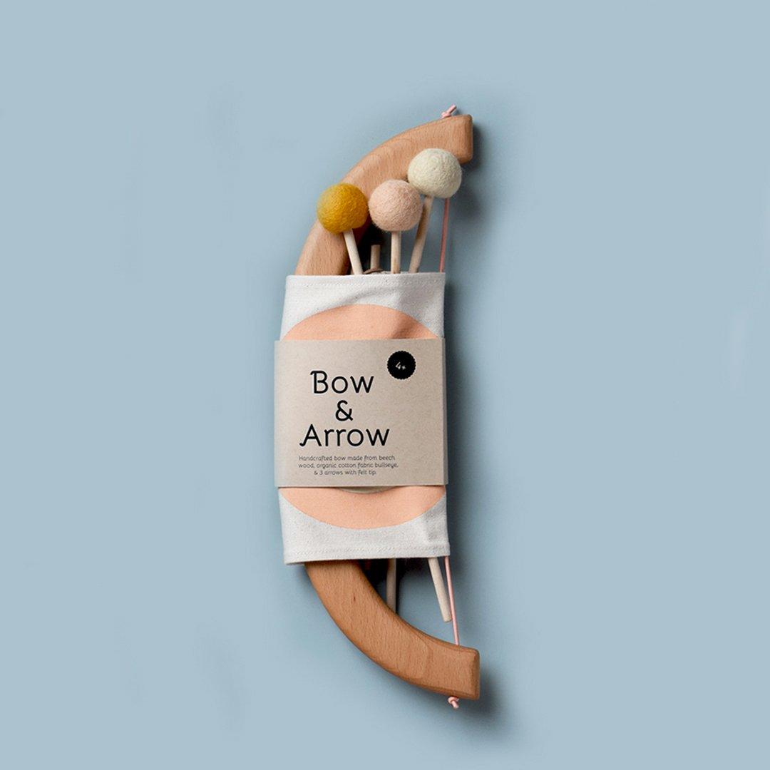 Bow & Arrow Set - Peach by Tangerine Studio
