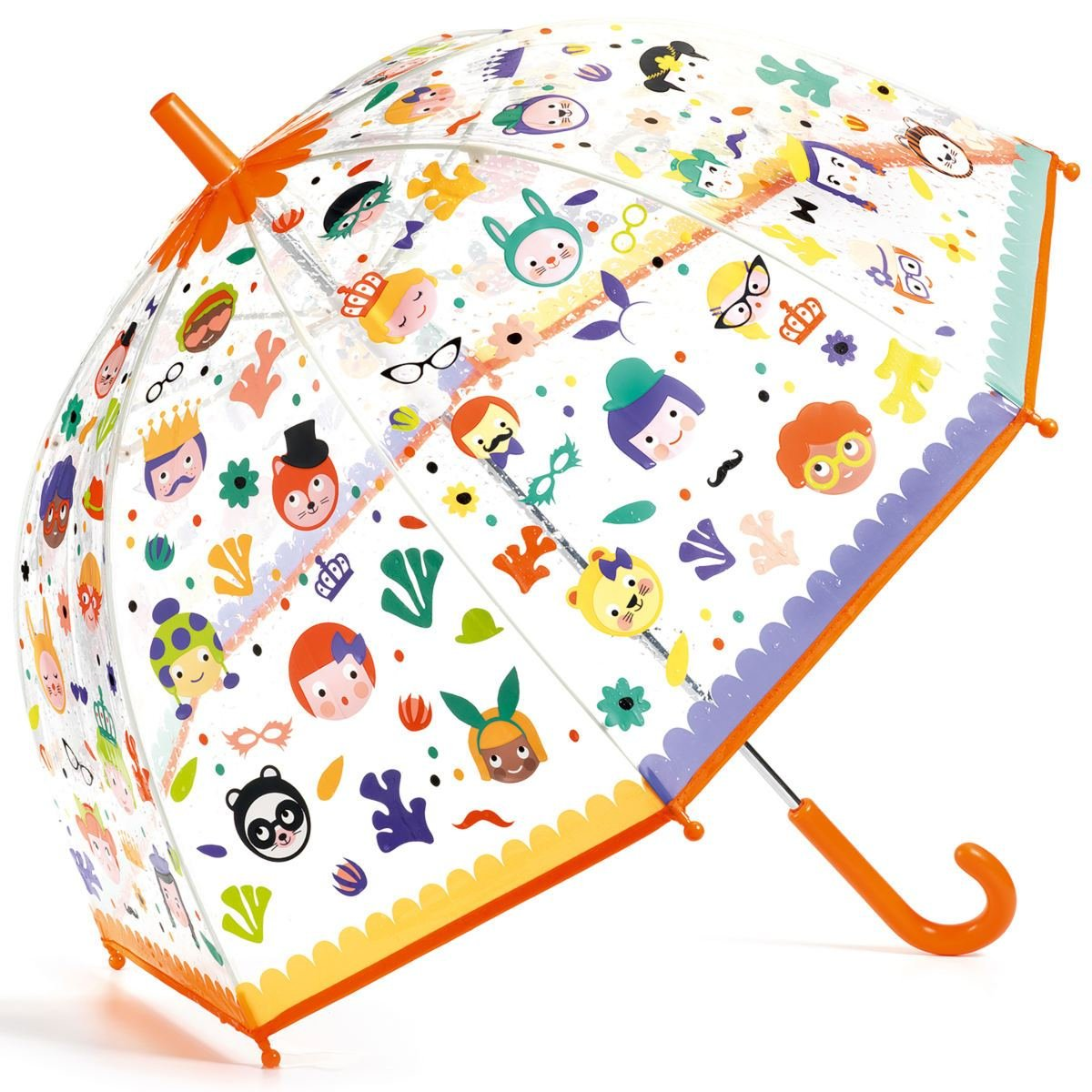 Color Changing Umbrella in Faces by Djeco