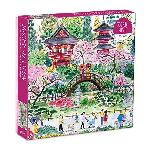 Japanese Tea Garden 300 Piece Puzzle by Galison