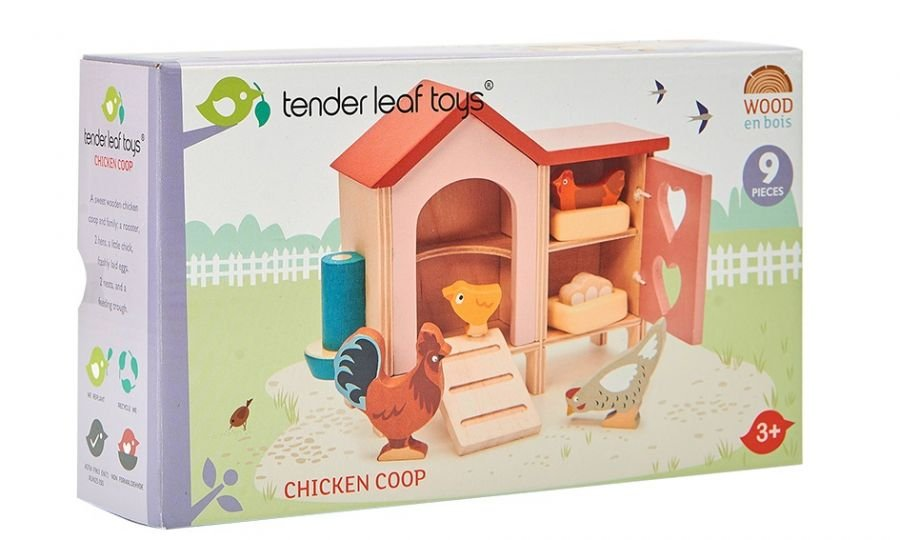 Chicken Coop by Tender Leaf Toys