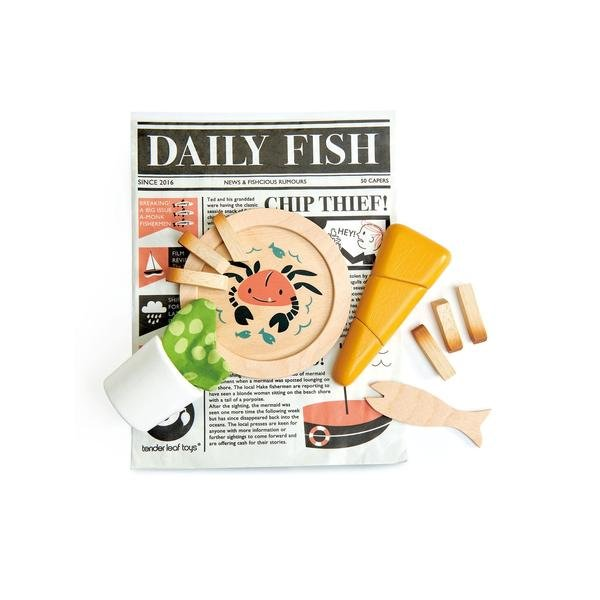 Fish and Chips Supper by Tender Leaf Toys