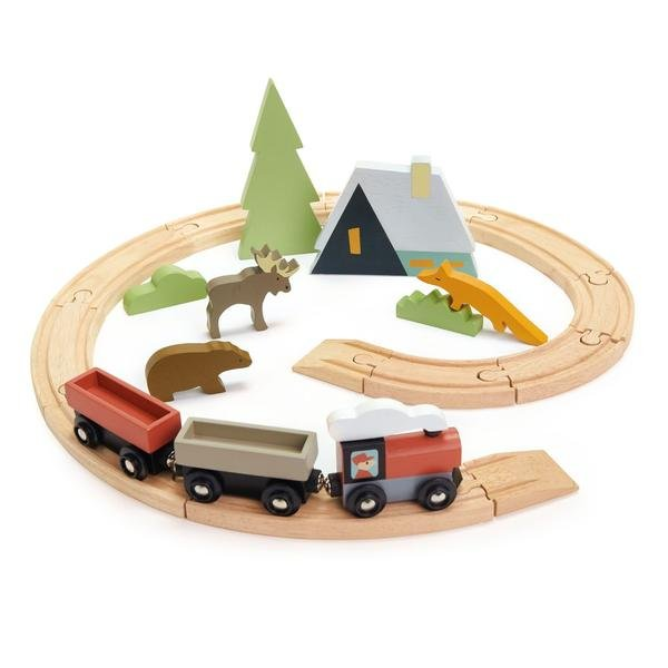 Treetops Train Set by Tender Leaf Toys