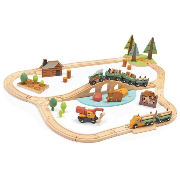 Wild Pines Train Set by Tender Leaf Toys