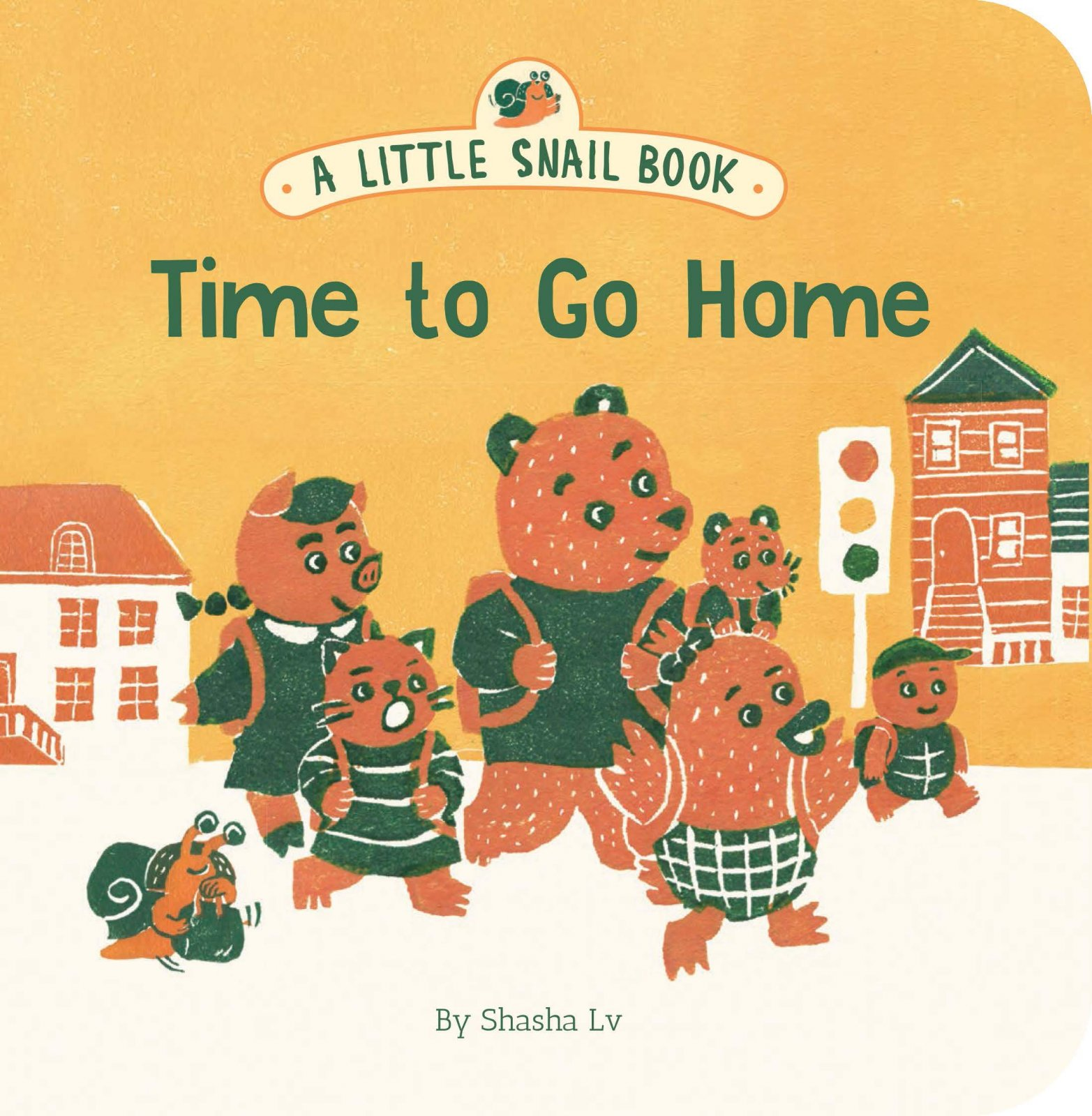 A Little Snail Book - Time to Go Home by Sasha Lv