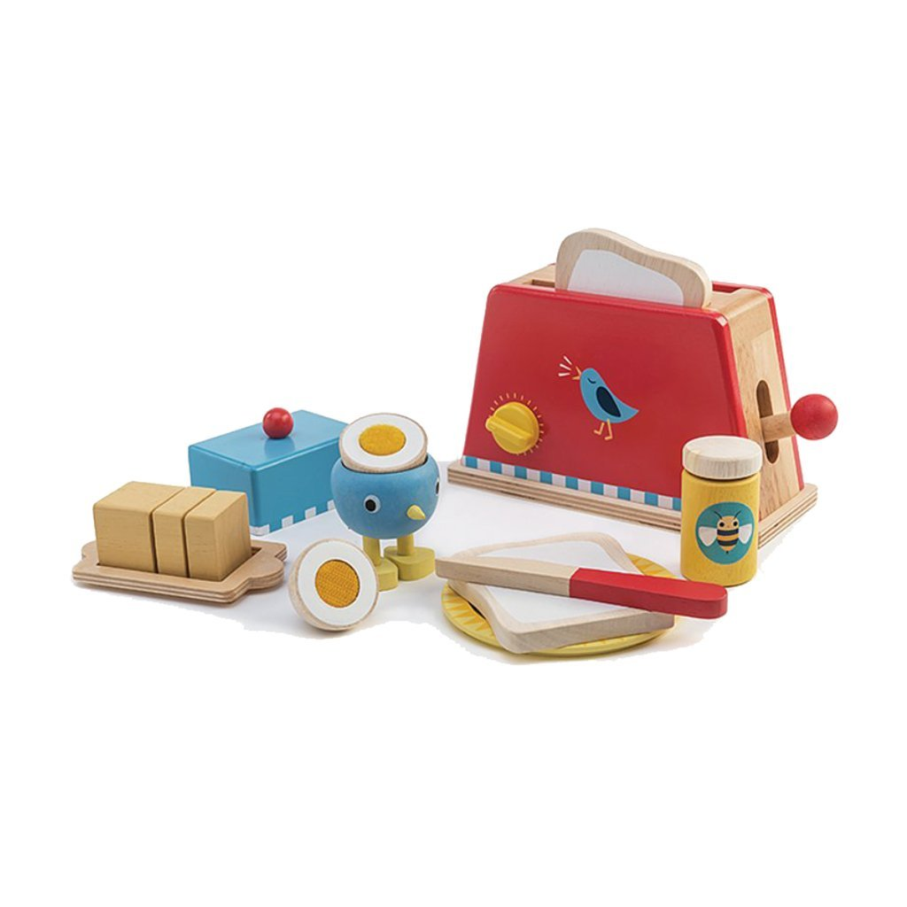 Toaster and Egg Set by Tender Leaf Toys