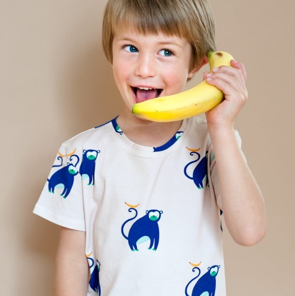 Monkey and Banana Tee by Don't Grow Up