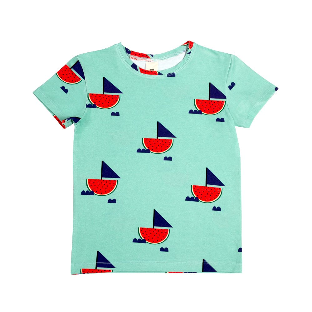 Watermelon Boat Tee by Don't Grow Up