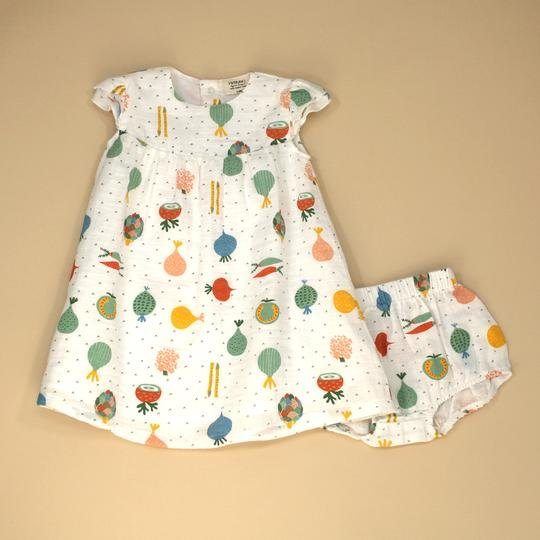 Veggie Salad Dress and Bloomer Set by Viverano