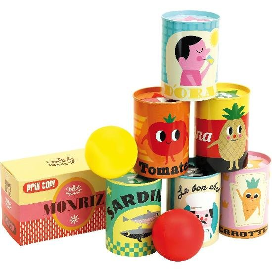 Tin Can Game by Vilac