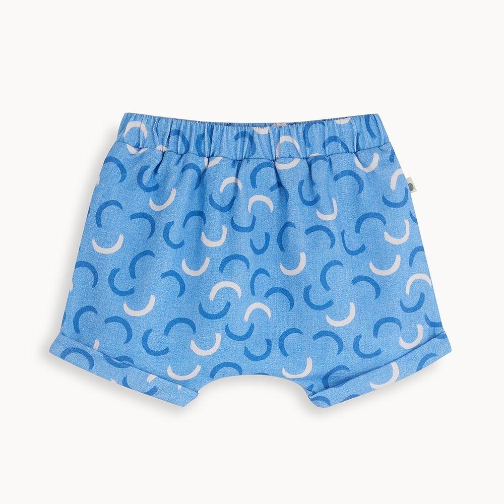 Hockney Wave Shorts by Bonnie Mob