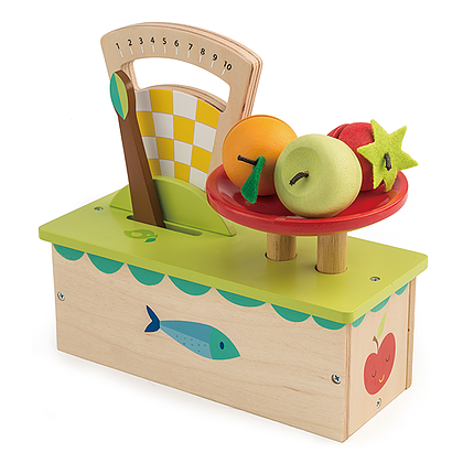 weighing scale by tender leaf toys
