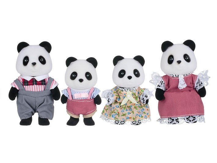 Wilder Panda Family by Calico Critters
