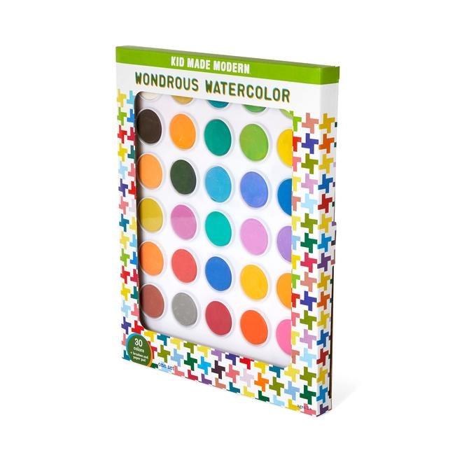 Wondrous Watercolor Set by Kid Made Modern