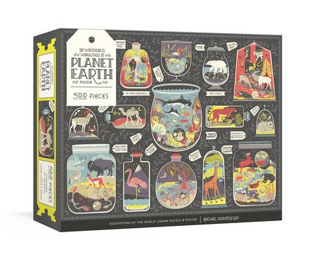 Wondrous Workings Of Planet Earth 500 Piece Puzzle by Potter Puzzles
