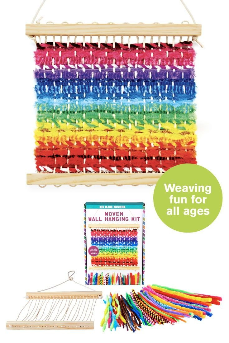 Woven Wall Hanging Kit by Kid Made Modern