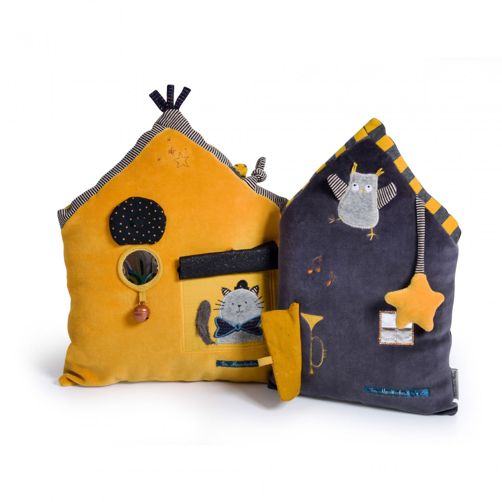 Yellow Activity House by Moulin Roty