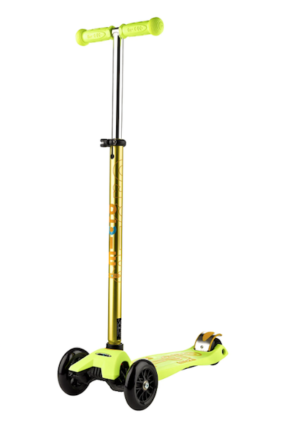 Maxi Deluxe Scooter - Yellow by Micro Kickboard