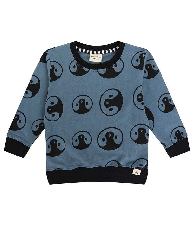 Yin Yang Penguin Sweatshirt by Turtle Dove