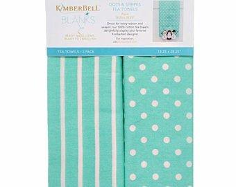 Kimberbell Towel Aqua