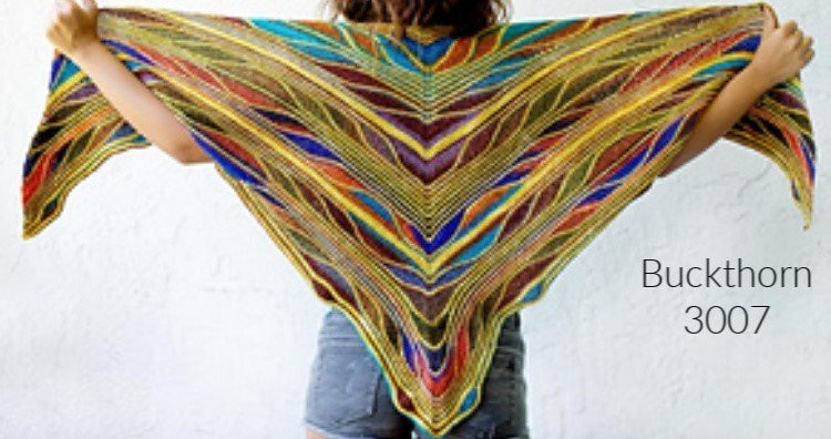 PAPILLON BUTTERFLY SHAWL KIT 3007 BUCKTHORN