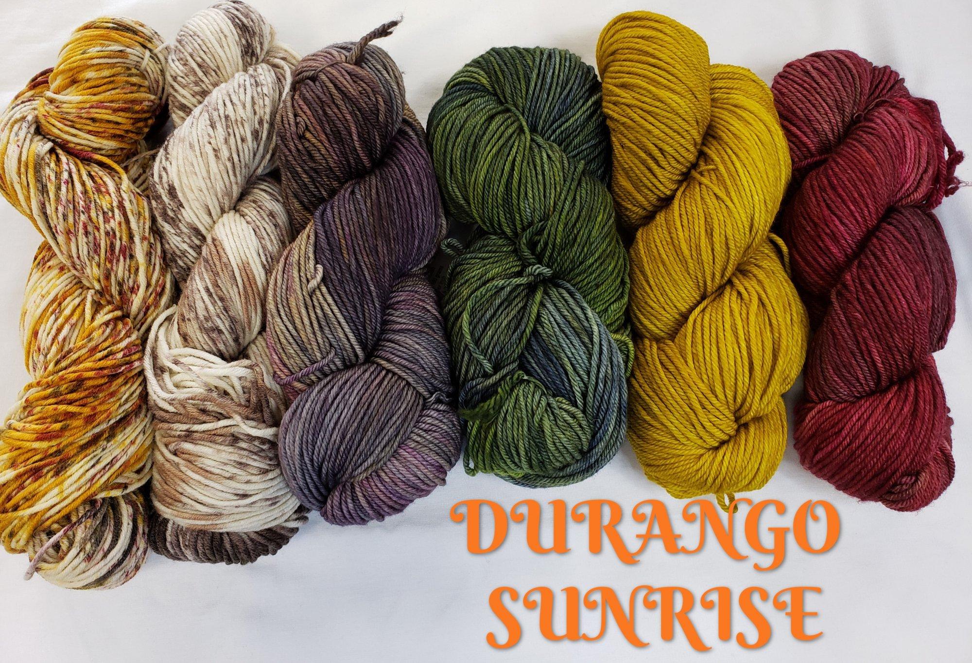 NIGHTSHIFT SHAWL SET - DURANGO SUNRISE