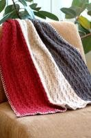 Plymouth Pattern: Homestead Vertical Striped Throw