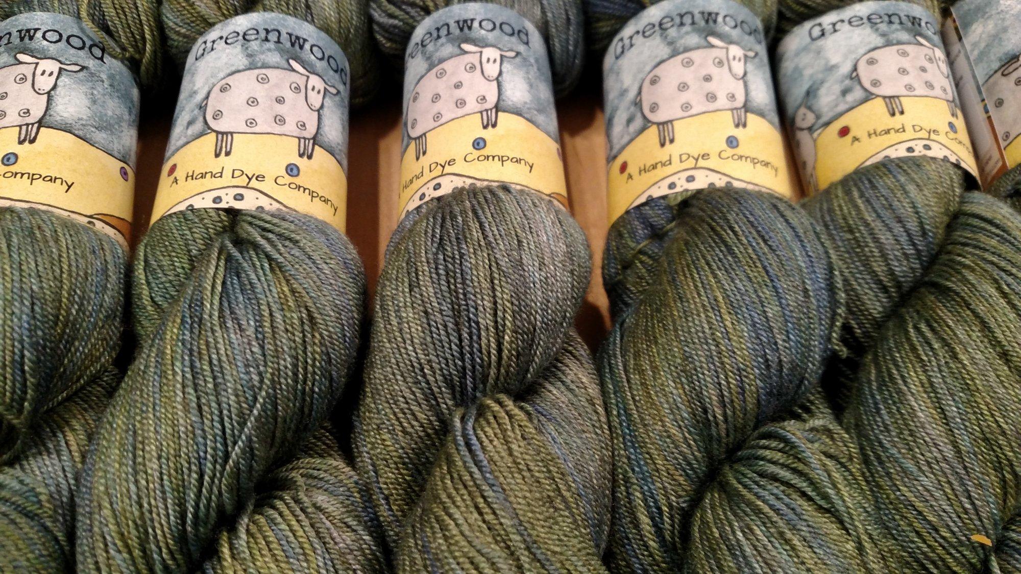 Greenwood Fiberworks Yakity Yak - Seaglass variegated