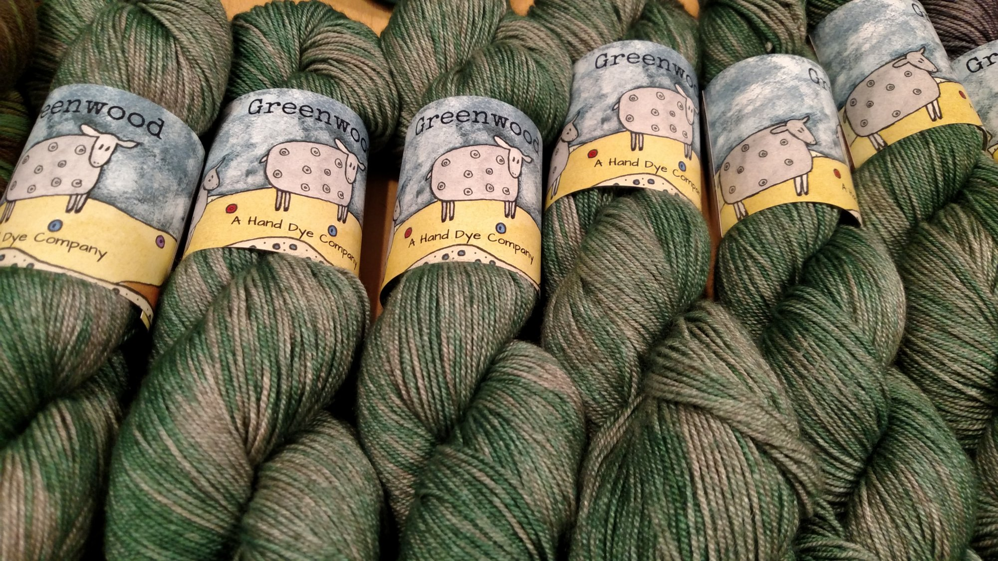 Greenwood Fiberworks Yakity Yak - Seafoam  tonal