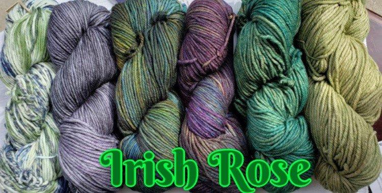IRISH ROSE NIGHTSHIFT SHAWL KIT