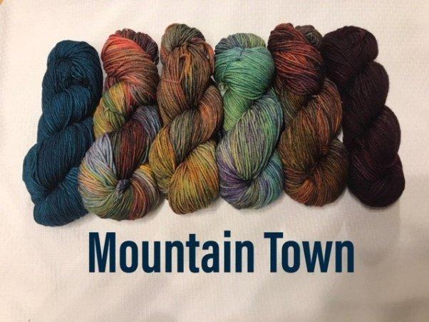NIGHTSHIFT SHAWL SET - MOUNTAIN TOWN