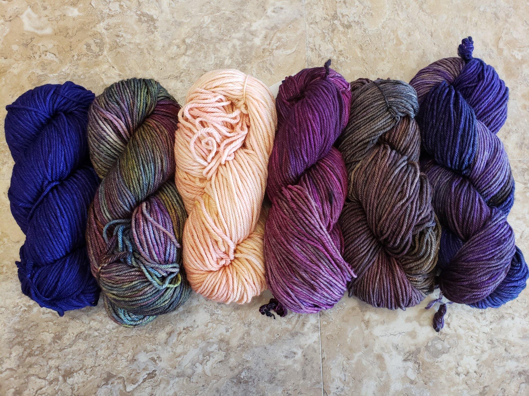 Nightshift Shawl Set - Purple Majesty