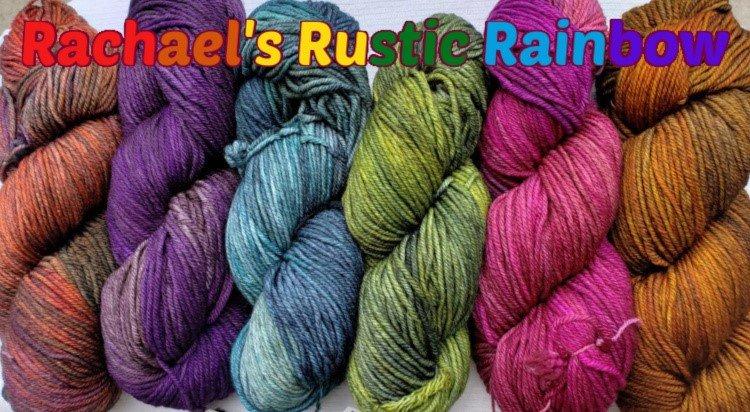 NIGHTSHIFT SHAWL SET - RACHAEL'S RUSTIC RAINBOW
