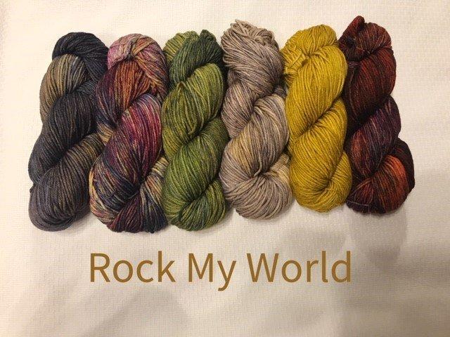 NIGHTSHIFT SHAWL SET - ROCK MY WORLD