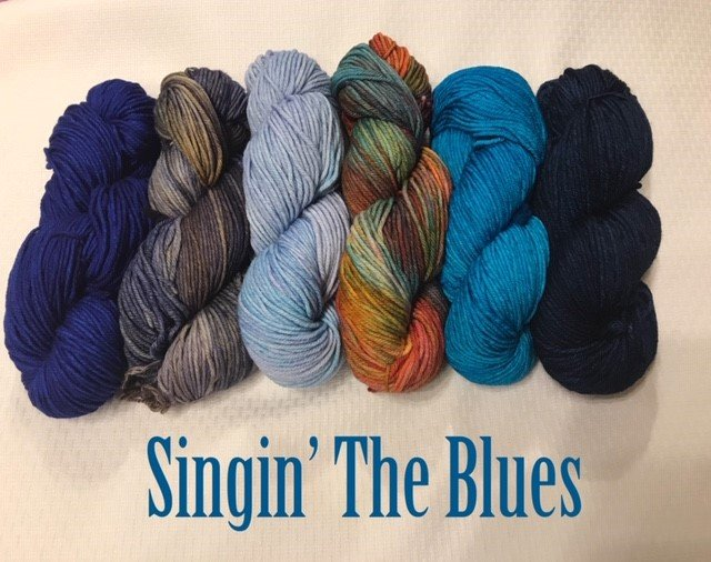 Nightshift Shawl Set - SINGIN' THE BLUES