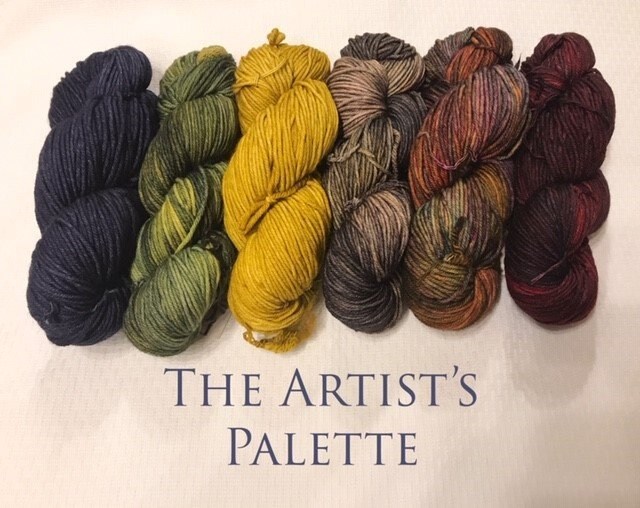 Nightshift Shawl Set - ARTISTS' PALETTE