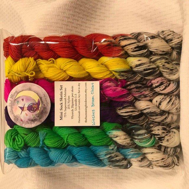 Hummingbird Moon - Mini Sock Skin Set - Witches Broom Closet