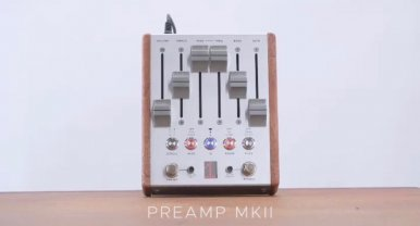 Chase Bliss Audio Preamp MkII Pedal from Winter NAMM Show 2019