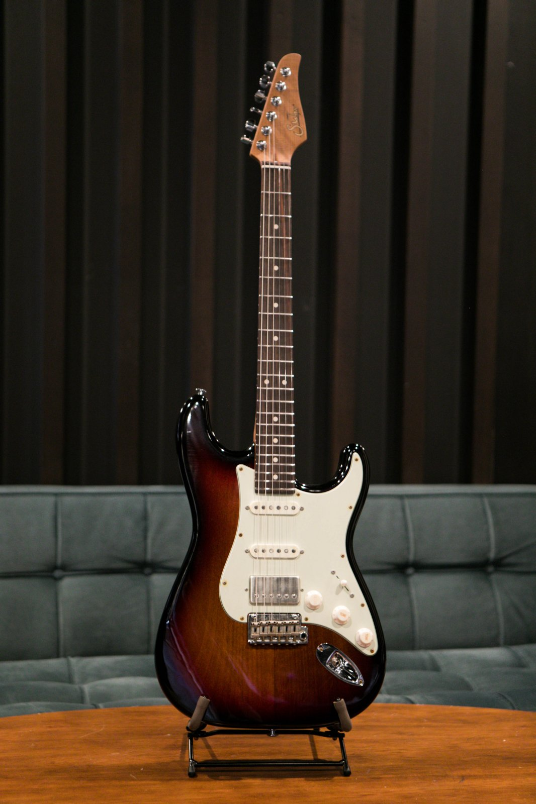 Suhr Classic S Antique Roasted - 3 Tone Burst