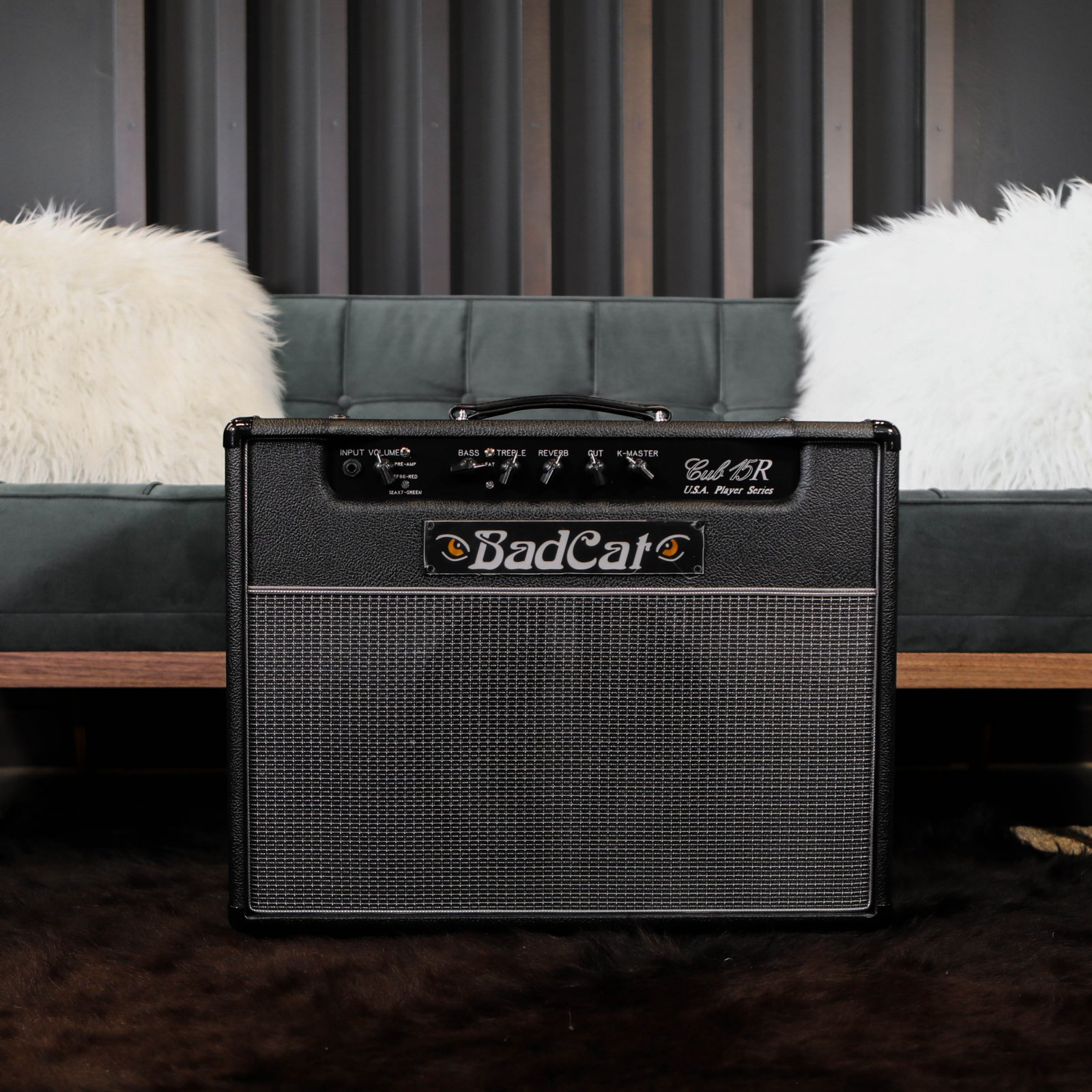 Bad Cat USA Player Series Cub 15R 15w 1x12 Combo Amplifier