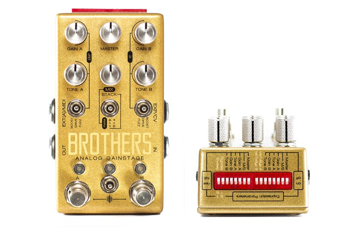 Chase Bliss Audio Brothers Analog Gainstage Guitar Pedal
