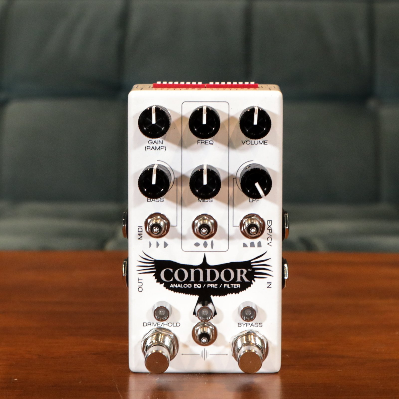 Chase Bliss Audio Condor: Analog Pre / EQ / Filter Guitar Pedal