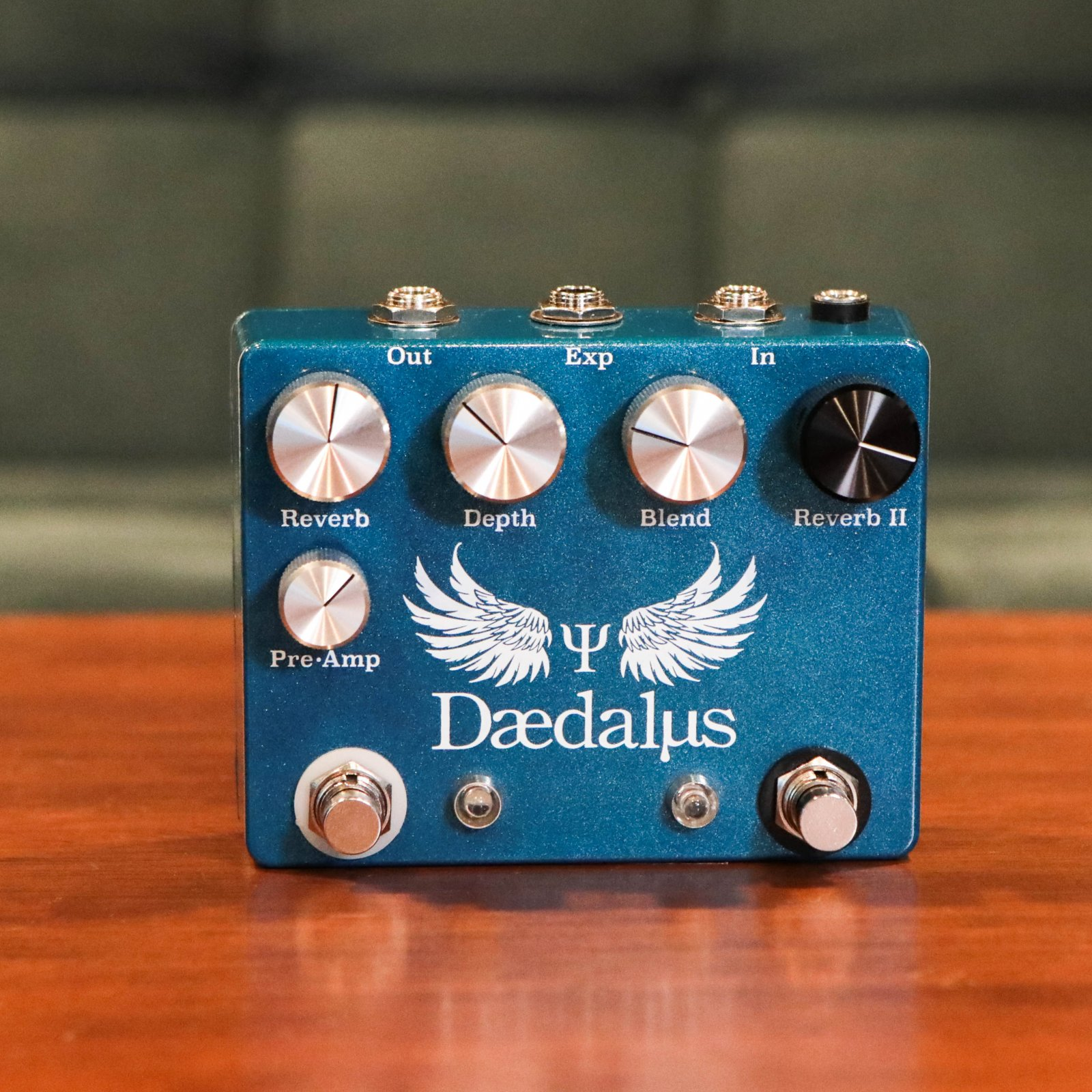CopperSound Pedal Effects Daedalus Reverb Guitar Pedal