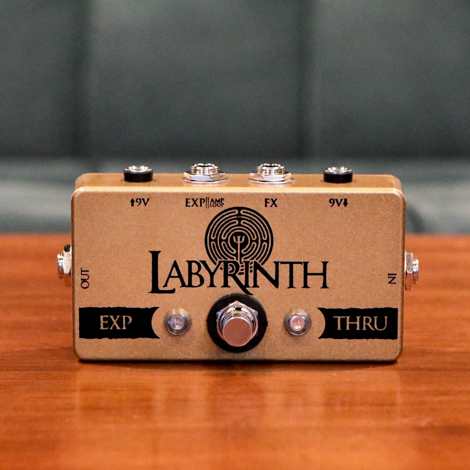 CopperSound Pedal Effects Labyrinth Signal Router Guitar Pedal