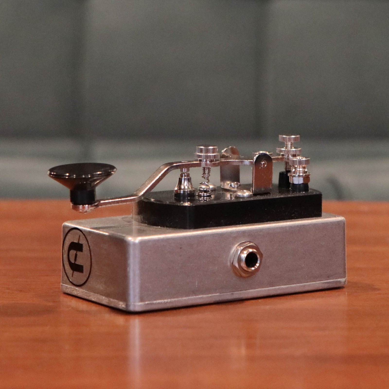 CopperSound Pedal Effects Telegraph Stutter Guitar Pedal - Standard Grey