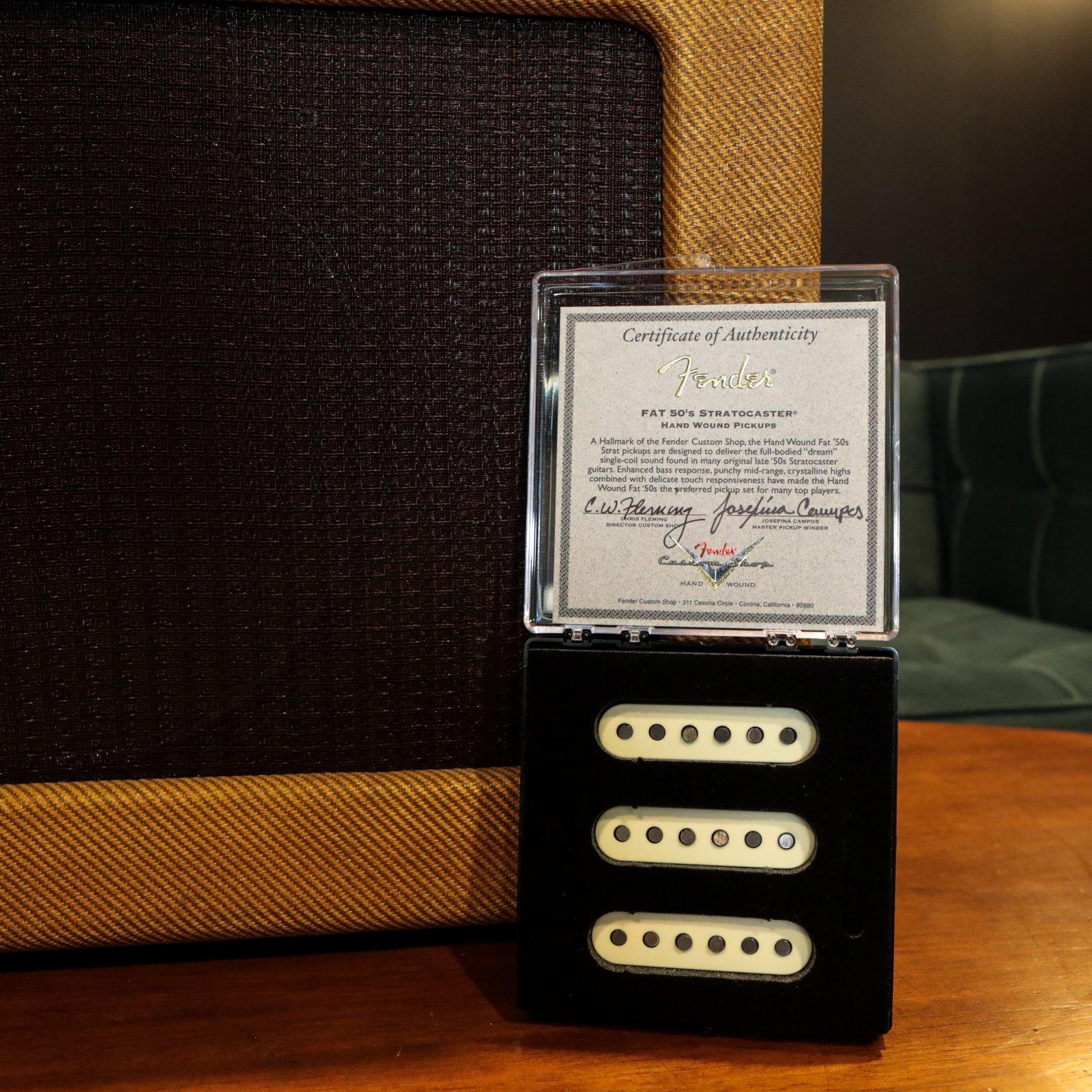 Fender Custom Shop Josefina Limited Edition Hand-wound Fat