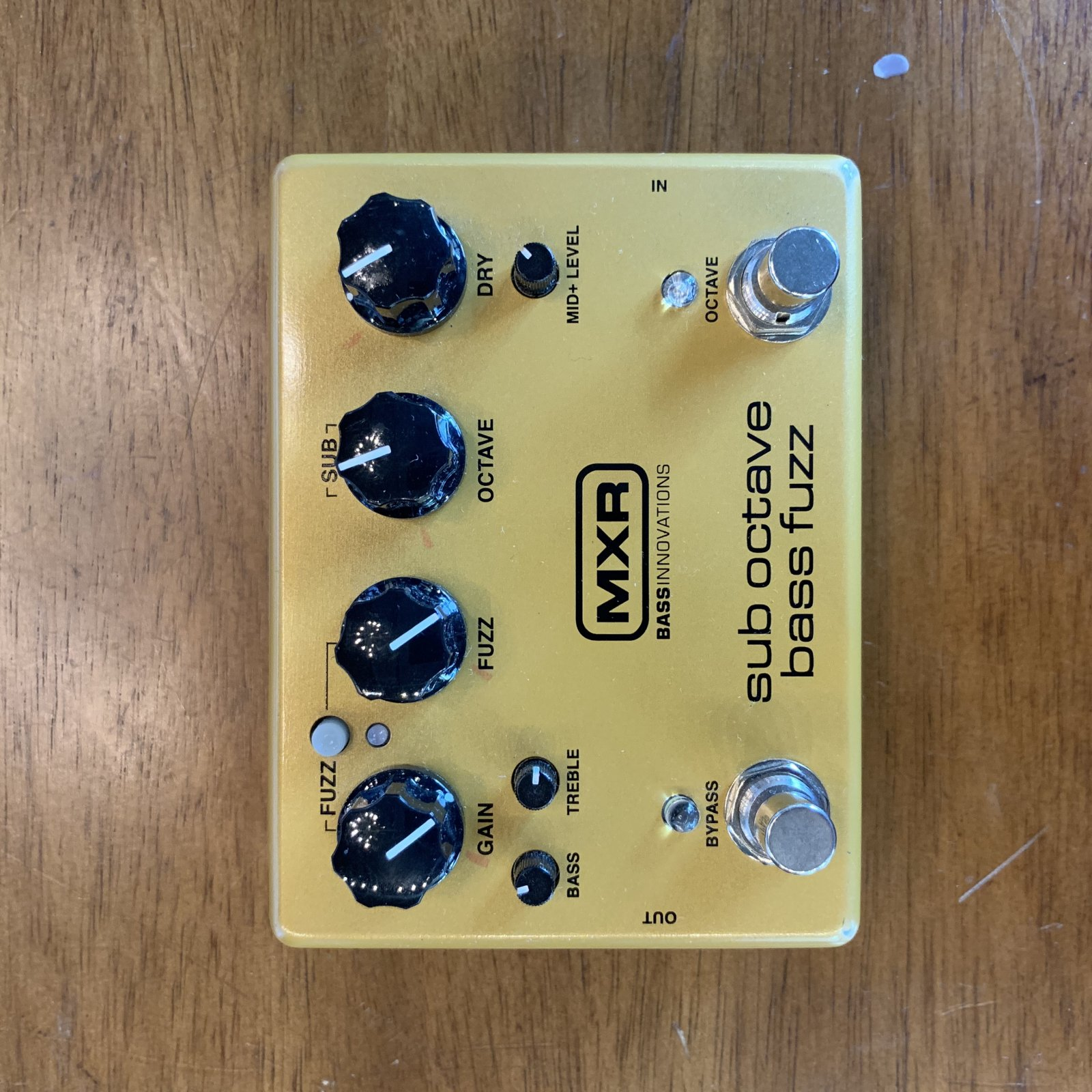 MXR M287 Sub Octave Bass Fuzz - USED