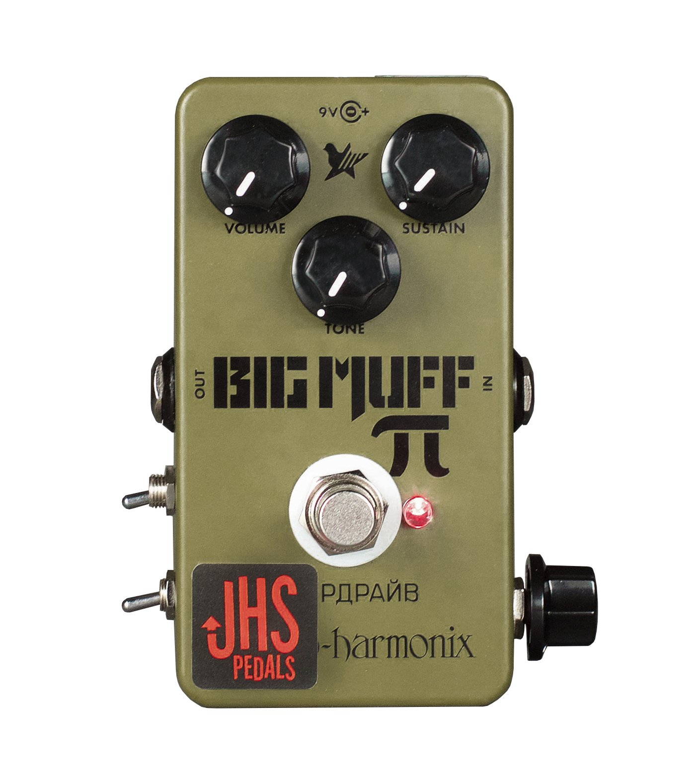 JHS Pedals Green Russian Moscow Mod Guitar Pedal