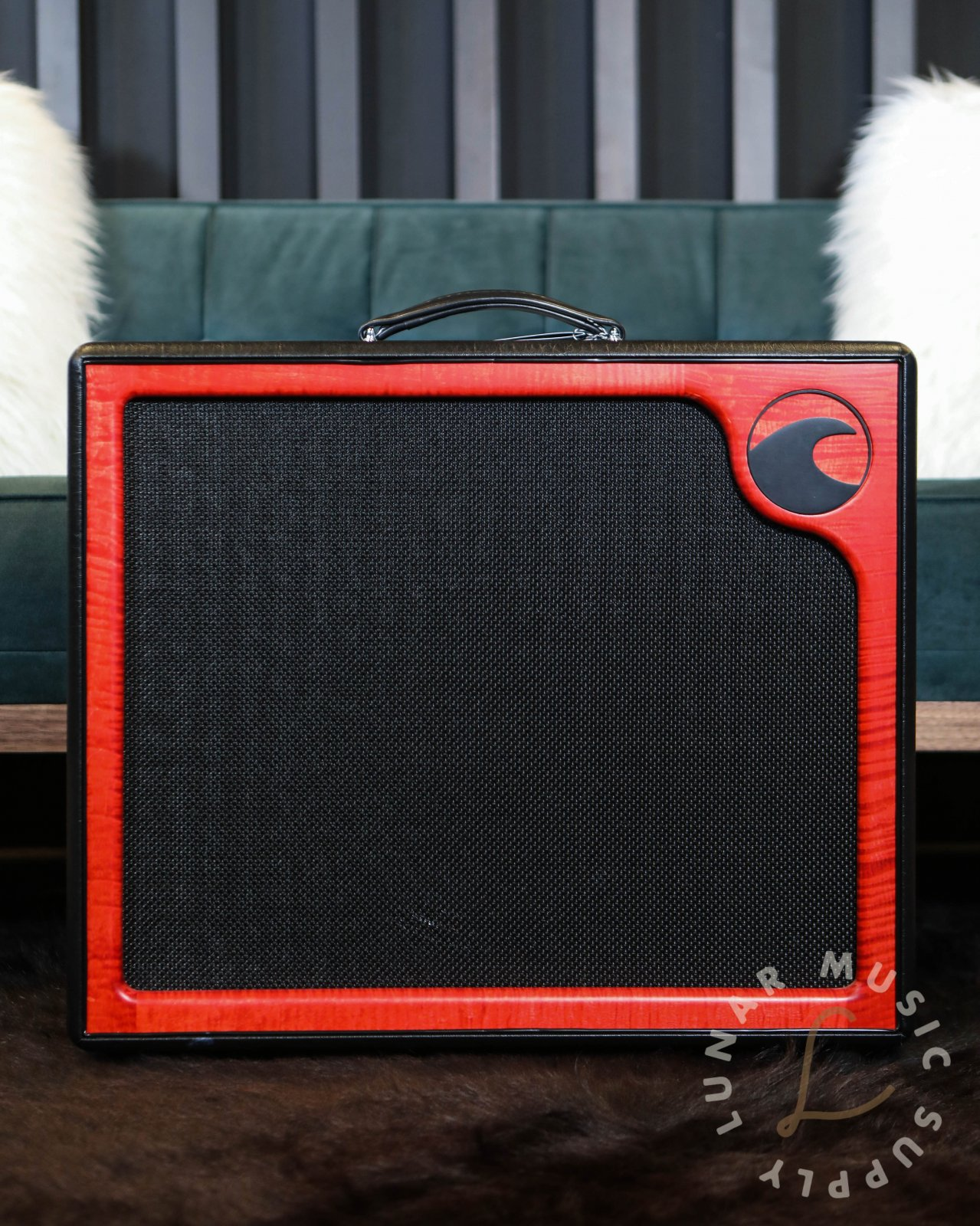 Port City Amplification Pearl Combo 50w Amplifier - Red Flamed Maple Frame