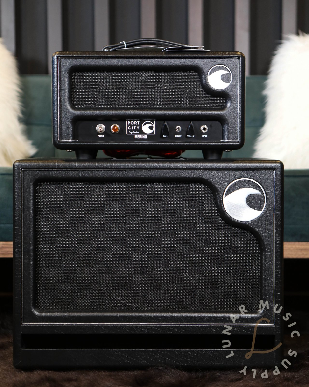 Port City Amplification Merino 10w Amplifier Head With Matching 1x12 Cabinet